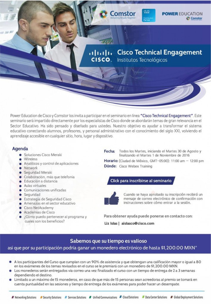 POSTER-CONVOCATORIA-CISCO-2016